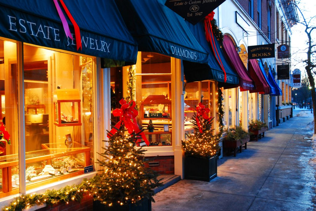 Small businesses during the holidays